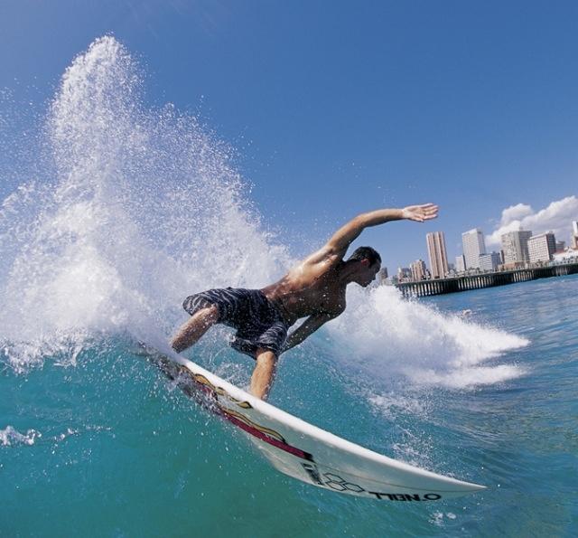 Durban surf, South Africa
