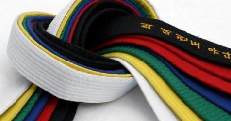 Guerreiro Taekwondo: Ordem e Significado das Faixas do Taekwondo: