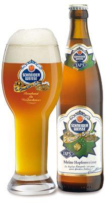 Schneider-Weisse Tap 5 Meine Hopfenweisse. This one goes straight to my top 10 favorite beers! #beer #cerveza #craftbeer
