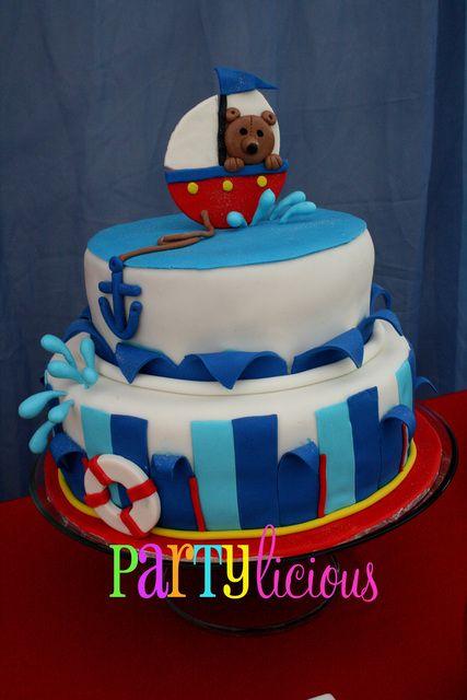 Sailor Nautical Birthday Party Ideas Birthdays Shower