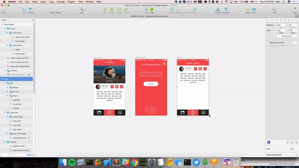 Auto-Layout for Sketch Easily see how your design looks on all screen sizes.