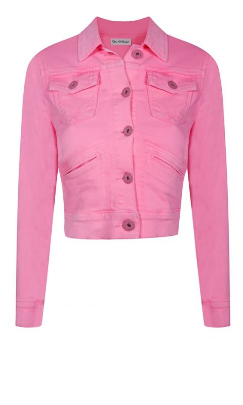 Best 25  Pink denim jacket ideas on Pinterest | Celeb fashion ...