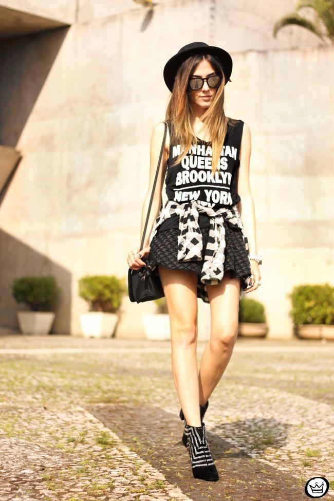 FashionCoolture - 04.09.2015 look du jour black basic tshirt and boots (1)