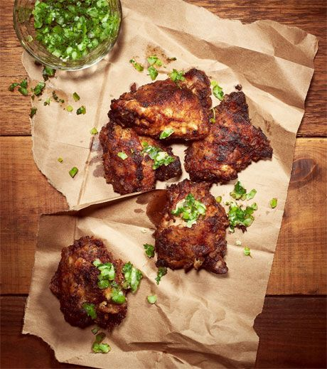 Coca-Cola Brined Fried Chicken:  this divine chicken based on Willie Mae's Scotch House Chicken in New Orleans