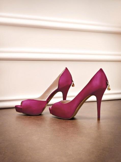 Liu Jo 2013 - #shoes #pink #heels