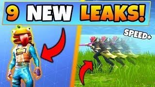 Fortnite Update 9 New Leaked Things Durr Burger Skin New Gun