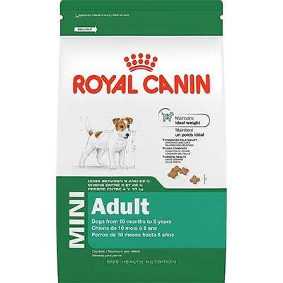 ROYAL CANIN SIZE HEALTH NUTRITION MINI Adult dry dog food