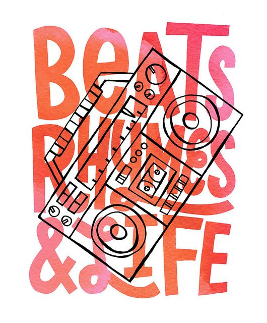 Jay Roeder   A Tribe Called Quest   Beats, Rhymes and Life
