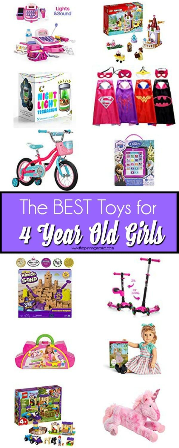 Great Toy Ideas For 4 Year Old Girls Perfect For Birthdays Or Christmas 4 Year Old Girl Diy Gifts For 4 Year Old Christmas Toys For Girls