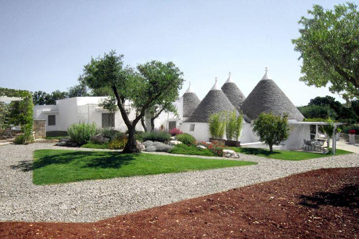 Trulli La Macina Outdoor Living Boutique hotel Calaci&Bergher architetti