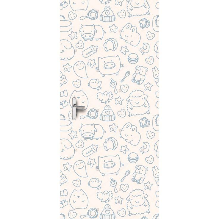 Deursticker Blij | Een deursticker is precies wat zo'n saaie deur nodig heeft! YouPri biedt deurstickers zowel mat als glanzend aan en ze zijn allemaal weerbestendig! Verkrijgbaar in verschillende afmetingen.   #deurstickers #deursticker #sticker #stickers #interieur #interieurprint #interieurdesign #foto #afbeelding #design #diy #weerbestendig #vrolijk #baby #babykamer #tekening #illustratie #varken #koe #dieren #kat #spook