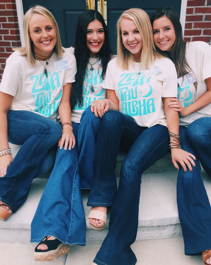 Zeta Tau Alpha | ZTA | Sisterhood Day | Recruitment | Rush Week | Georgia Southern | Sorority Fall Fashion | Sorority Accessories | Kappa Cool | Greek Tee Shirts | Greek Tank Tops | Custom Apparel Design | Custom Greek Apparel | Sorority Tee Shirts | Sorority Tanks | Sorority Shirt Designs