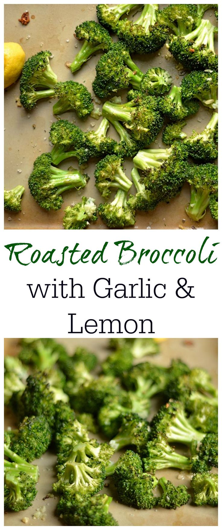 The absolute BEST way to eat broccoli! Super easy side dish the whole family can enjoy!
