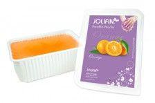 Paraffin Wachs-Bad: Jolifin Paraffin Ersatzblock Orange