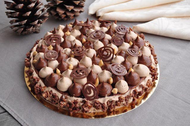 """Avec l'automne et le froid qui arrive, m'est venu une envie de chocolat et de douceur… du coup j'ai pensé au chocolat """"Caramélia"""", u..."""