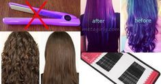 Want to have naturally straight hair without going to the salon and heat ? Moreover, in the salon too much cream made from chemicals and tools that can make you know Ladies damaged hair . Well , this is how to straighten hair without heat generated from equipment in the salon .
