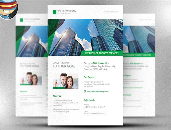 Best Real Estate Flyer Design Templates Images On