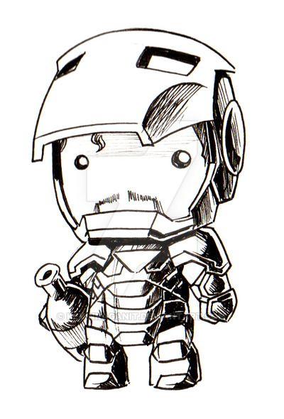 Ironman Chibi Doll By Kevinraganit Iron Man Pictures