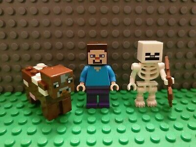 Lego Minecraft Steve, Skeleton & Cow Minifiguren #minecraft #game #UK – #minecra …   – Fortnite Lego