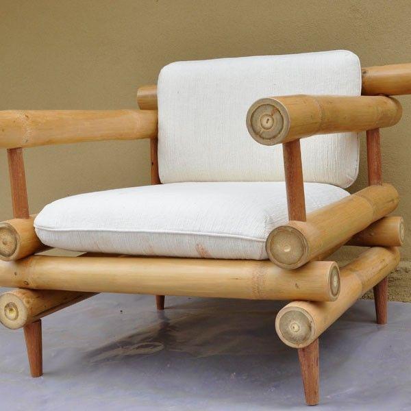 Silla Sofá Muebles de bambú
