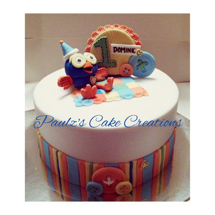 """""""Giggle n Hoot"""" inspired cake"""