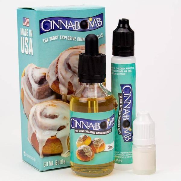 Just like the classic cinnamon bun you get at the mall... Vape It!!  60ml Bottle. Free Unicorn Bottle Free Vape Band
