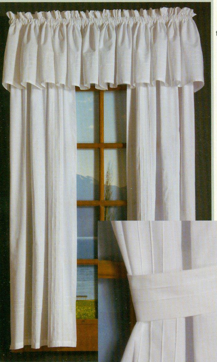 Pintuck rod pocket curtain pair sealed kitchen in 2018 pinterest rod pocket curtains curtains and kitchen