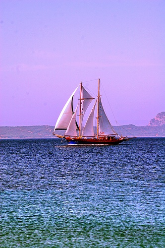 Sailing Datca peninsula