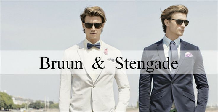Bruun & Stengade! Established in Copenhagen in 2004, we are excited to bring this brand to the shop. Take your style to the next level of boss.