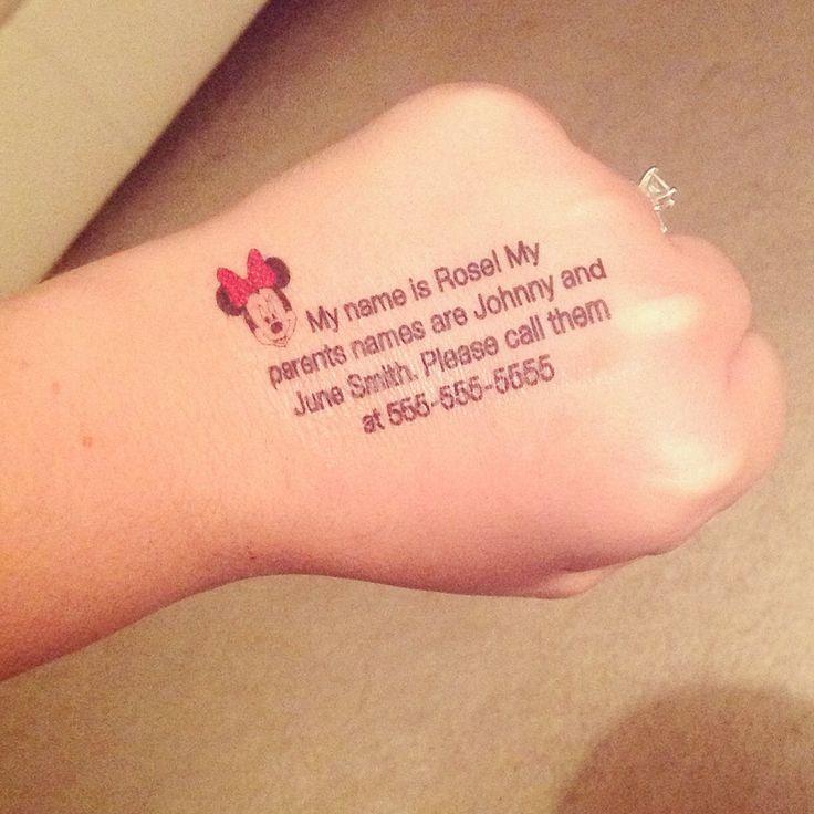 Disney Tattoos By JunkbyJenn On Etsy