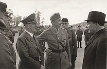 Continuation War -Hitler, Marshal Mannerheim (Finnish Army chief) and Finnish President Ryti meet, Imatra — June 1942 Wikipedia, the free encyclopedia