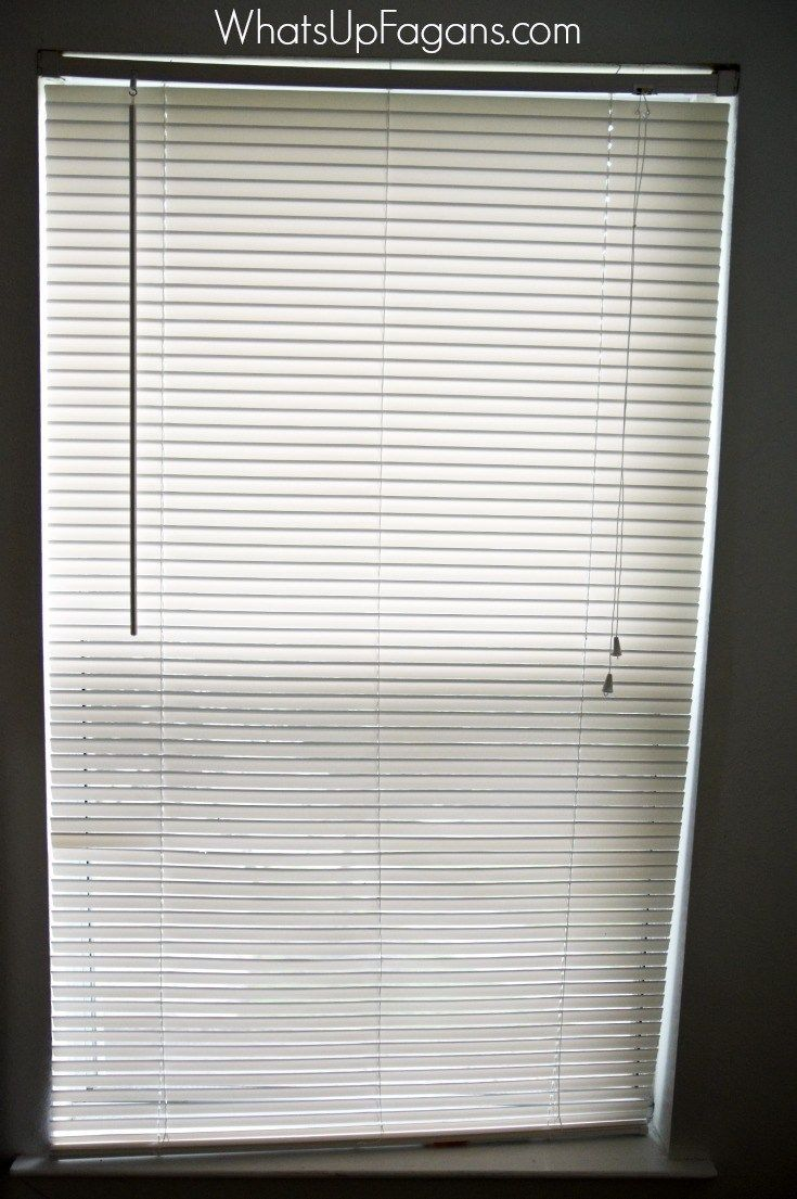 How To Fix The Mini Blinds Your Kids Destroyed Mini Blinds Blinds Blind Repair