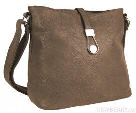 Crossbody kabelka H0362 přírodní hnědá