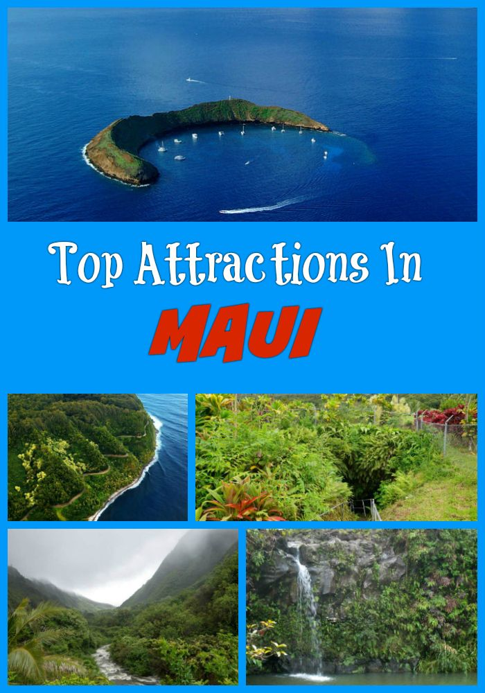 Best Maui Attractions : Lahaina, Haleakala National Park, Haleakala Crater, Ohe'o Gulch, Waianapanapa State Park, Paia and other points of interest