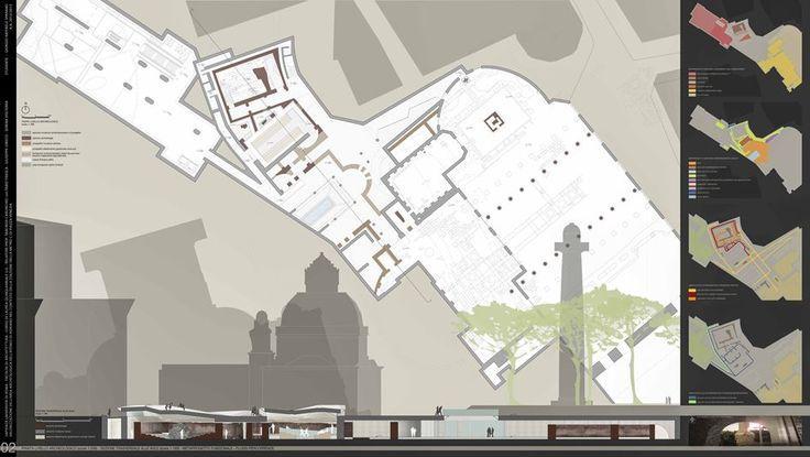 VALORIZZAZIONE DELL'AREA ARCHEOLOGICA DELL'ATENEO DI ADRIANO NEL CONTESTO DELLA STAZIONE DELLA METRO C DI PIAZZA VENEZIA - Picture gallery