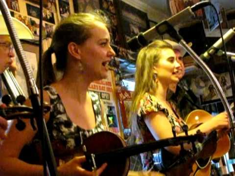"THE QUEBE SISTERS BAND AT THE COOK SHACK - ""HOW HIGH THE MOON"" - YouTube"