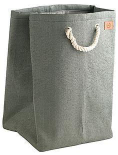 Wäschekorb grau
