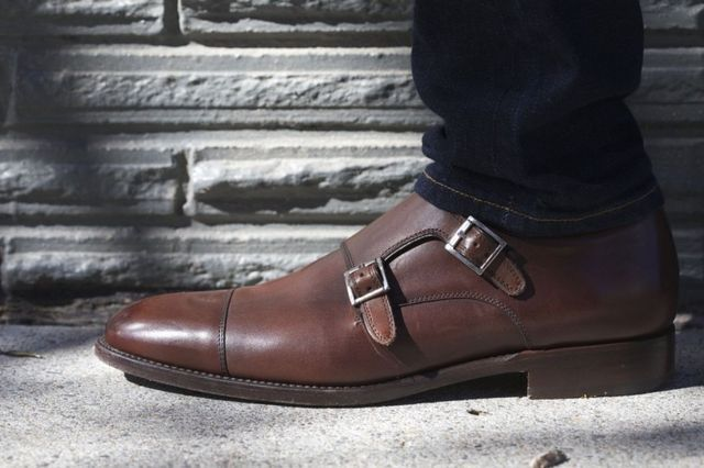 Wearing dress shoes with jeans is a very common look and it bridges that gap between formal and casual. If you're heading to a bar, a casual date or even a casual job interview combining jeans with dr