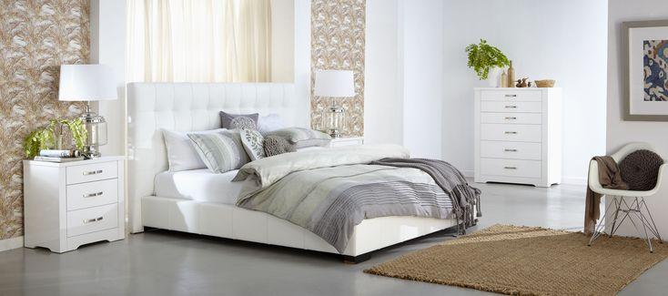 Best Forty Winks Alexa Clean Modern Bedroom Furniture Suite In 400 x 300