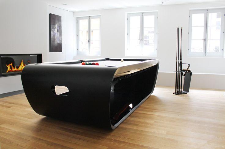 Ekskluzywny stół do bilarda https://www.homify.pl/katalogi-inspiracji/8879/w-meskim-stylu-idealna-kawalerka