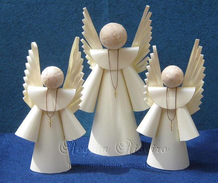 By Regina Ribeiro Angel CraftsXmas