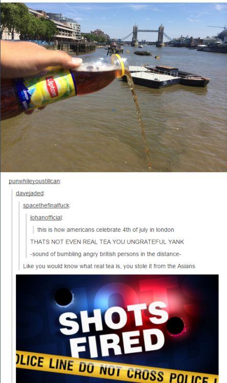 Tea dumping is an internati