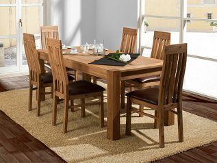 Savon jídelní stůl s židlemi z akátu