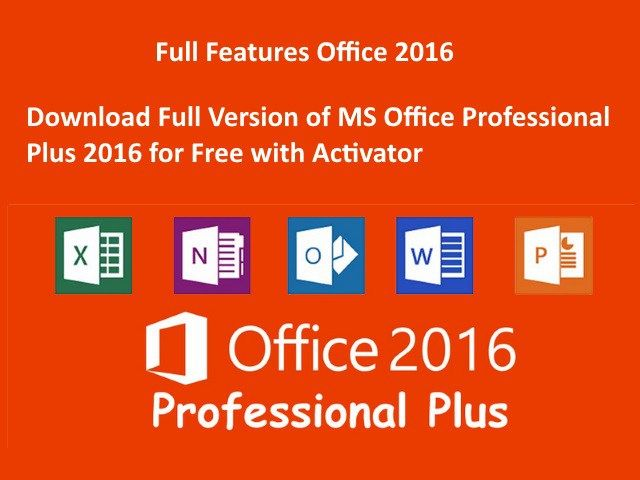 Download Office Professional Plus 2016 With Activation Pcguide4u Microsoft Applications Download Microsoft Office