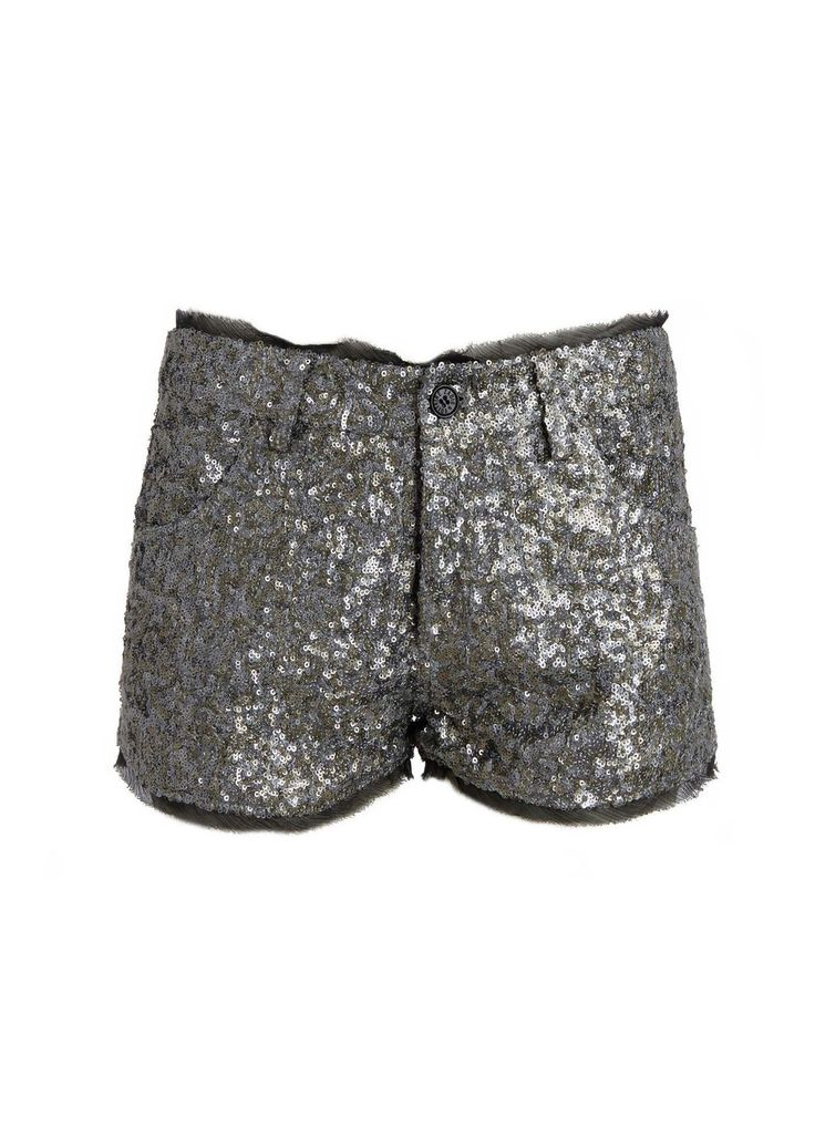 SHORT PRIMO PAILLETTES DELUXE, silver, Zadig & Voltaire
