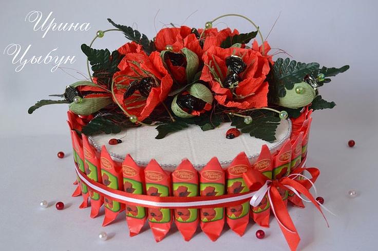 tarta bombones y caramelos