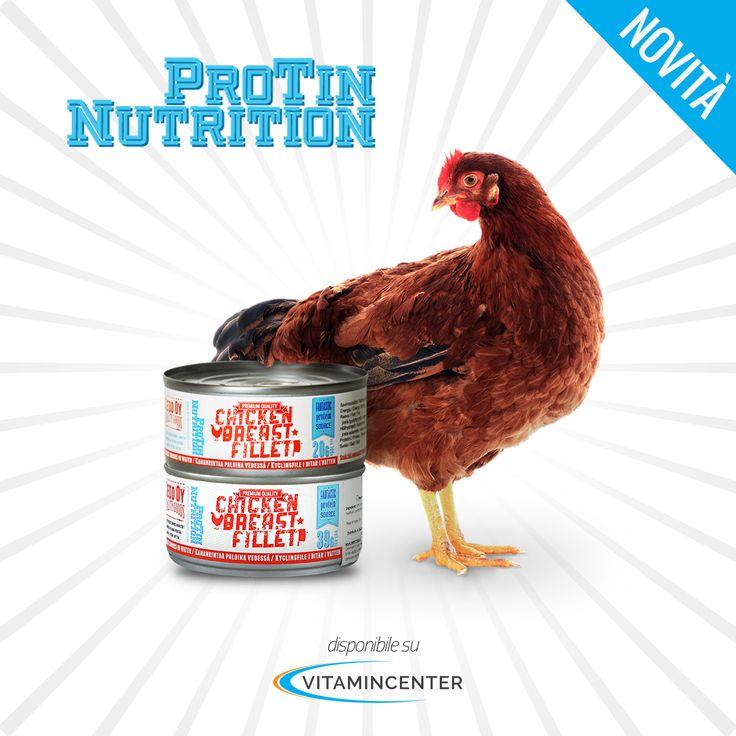 Un'idea nuova per pranzi e spuntini sani e ad alto contenuto proteico. Petto di pollo in filetti da gustare da solo o da aggiungere a insalate e pasta. Da provare! ;)