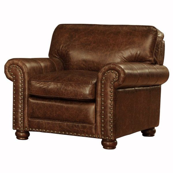 There's a reassuring familiarity to the Lazzaro 1001N collection, with its rounded arms and nailhead trim that speak with a British accent. The 1001 line features an English- style sofa, loveseat, easy chair and matching ottoman, all rendered in rustic leather that's 100 percent North American cowhide, expertly tanned in the dedicated Lazzaro tannery. Concealed by these hides is a frame of kiln-dried birch assembled with high-grade steel bolts and washers that's warranted for a lifetime.