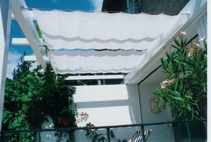 Sonnensegel Pergola Uni Weiß - Sonnensegel, Camping Sonnensegel, Seilspannmarkisen, seilspann Sonnensegel und Sonnenschirme vom Sonnenmax