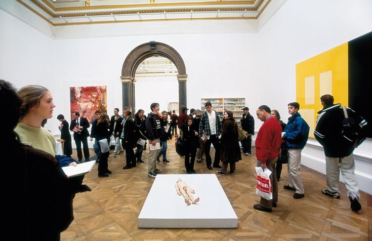 Marcus Harvey, Ron Mueck, Damien Hirst, Gary Hume